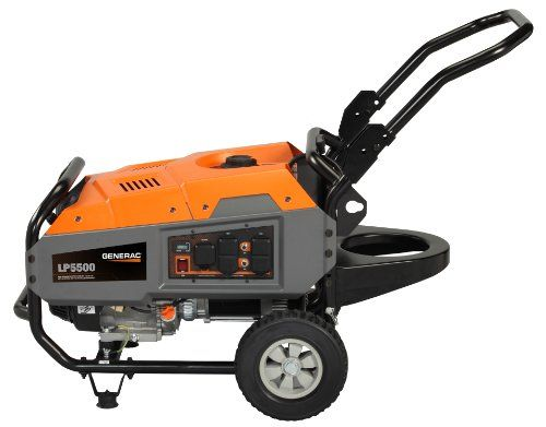 Generac 6001 LP5500 5,500 Watt 389cc OHV Portable Liquid Propane Powered Generator with Tank Holder (CARB Compliant) Generac http://smile.amazon.com/dp/B00BD615VI/ref=cm_sw_r_pi_dp_8FtCub19VTB4G