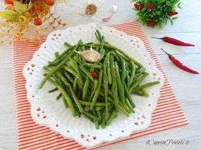 Fagiolini saltati in padella http://www.ilcuoreinpentola.it/ricette/fagiolini-saltati-in-padella/