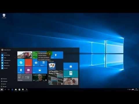 Artikel: Kennismaking Windows 10 | SeniorWeb
