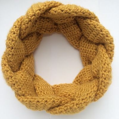 Would You Like Yarn With That?: Free Anthropologie-Inspired Braided Crochet Headband Pattern & Tutorial