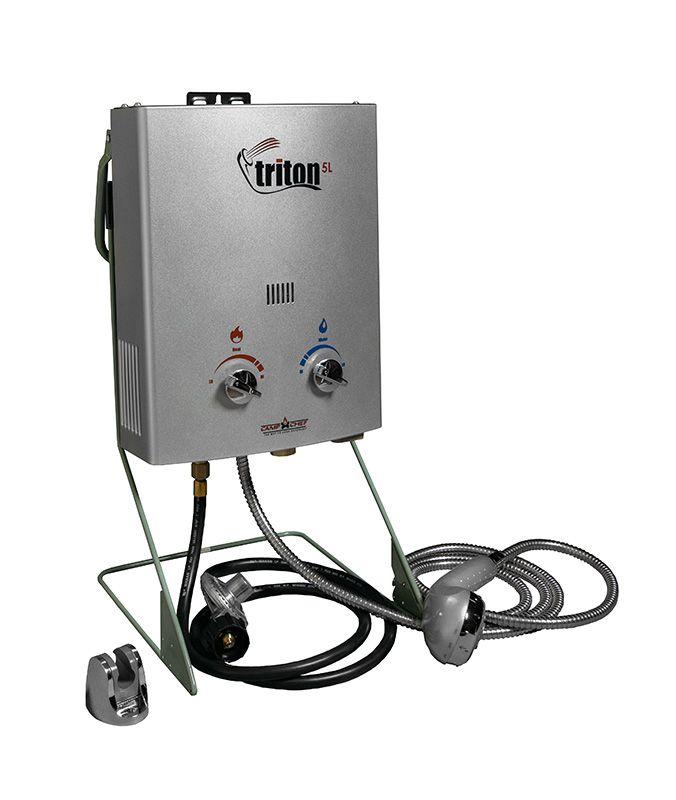 Camp Chef Triton 5 Liter Gas Portable Camp Water Heater With Shower Head Hwd5 Walmart Com Best Solar Panels Solar Water Pump Solar Panels