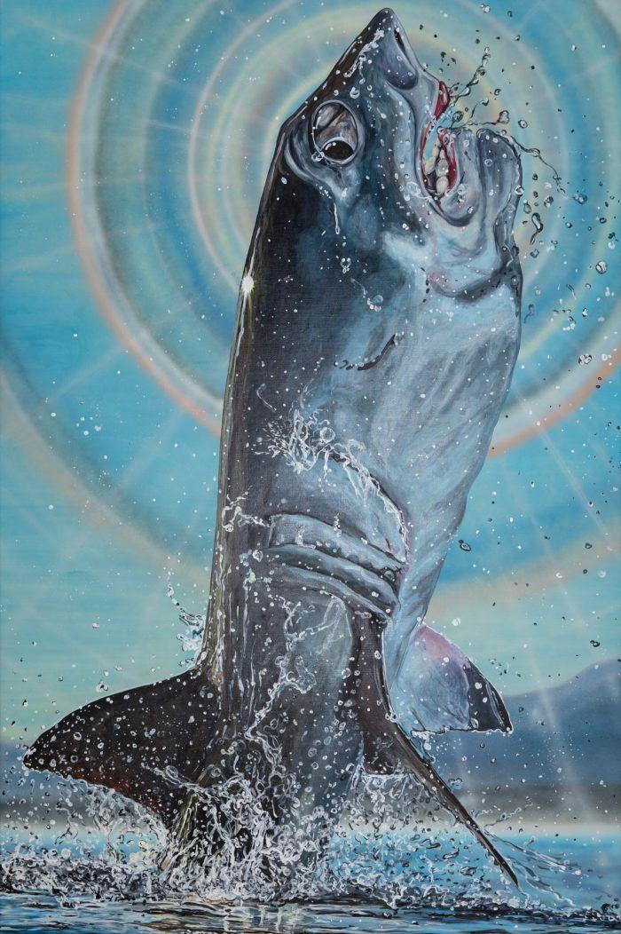 Jana Euler In 2020 Contemporary Art Daily Art World Shark Painting