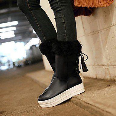 MissBoot Damenschuhe runde Kappe niedrige Ferse zur Mitte der Wade Stiefel mit Spitzen-up mehr Farben erhältlich - http://on-line-kaufen.de/missboot/missboot-damenschuhe-runde-kappe-niedrige-ferse