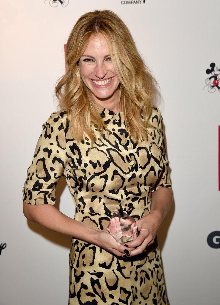 Pin for Later: Kate Hudson Se Teint les Cheveux en Rose Gold, et C'est Plutôt Réussi Julia Roberts, aux GLSEN Respect Awards