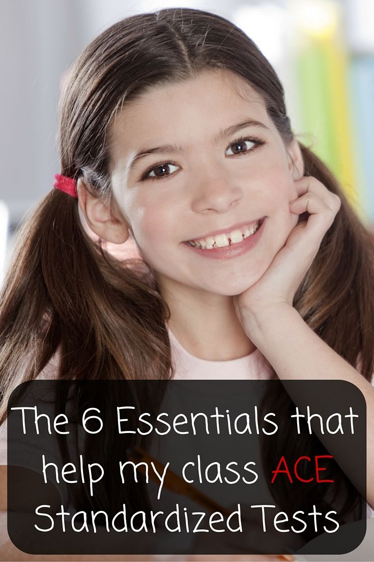 Are you giving your students the best chance to pass their Standardized Exams? Check out the 6 essentials that will help get your kiddos the grade that they want!