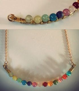 """Quiet Lion Creations by Allison Beth Cooling: DIY- Anthropologie """"Perched Harmonies"""" Necklace"""