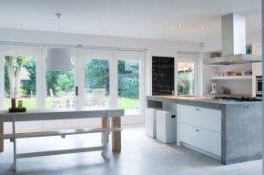 moderne en gezellige keuken