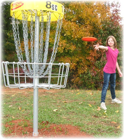 Our disc golf course is open to the public for just $2 per day!: Open, Disc Golf, Golf Courses, Offer, Public