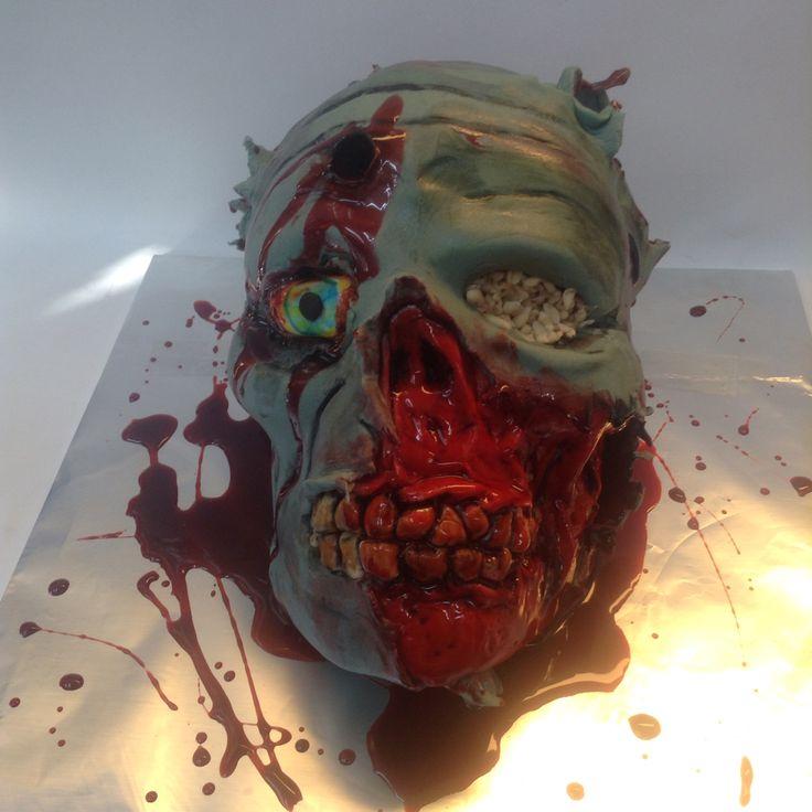 Zombie Cake. #zombie #cake #walkingdead