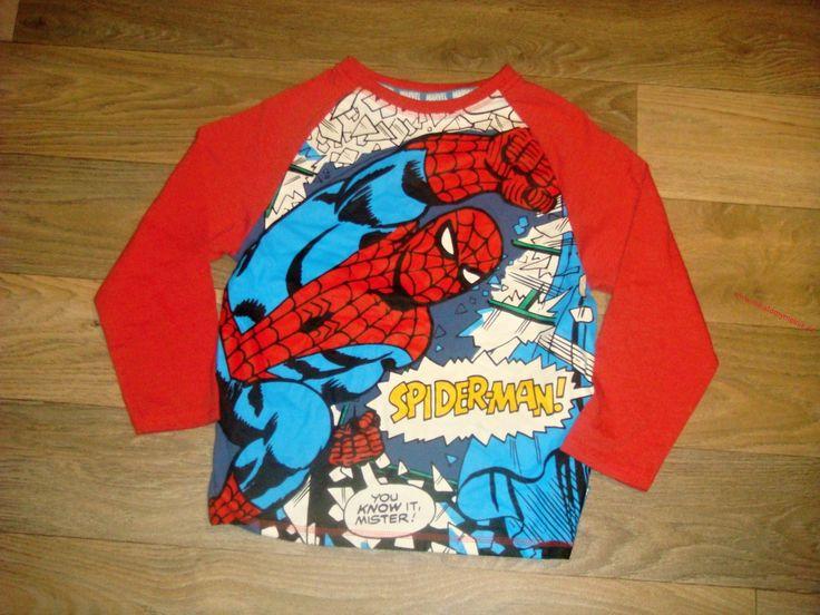 SPIDERMAN bavl.triko vel.6-7let