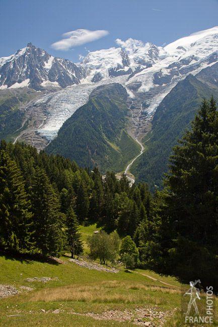 Mont Blanc Mountain Range