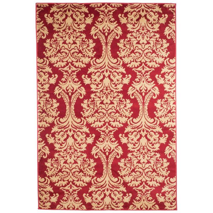 Oriental Red 5 Ft X 7 In Area Rug