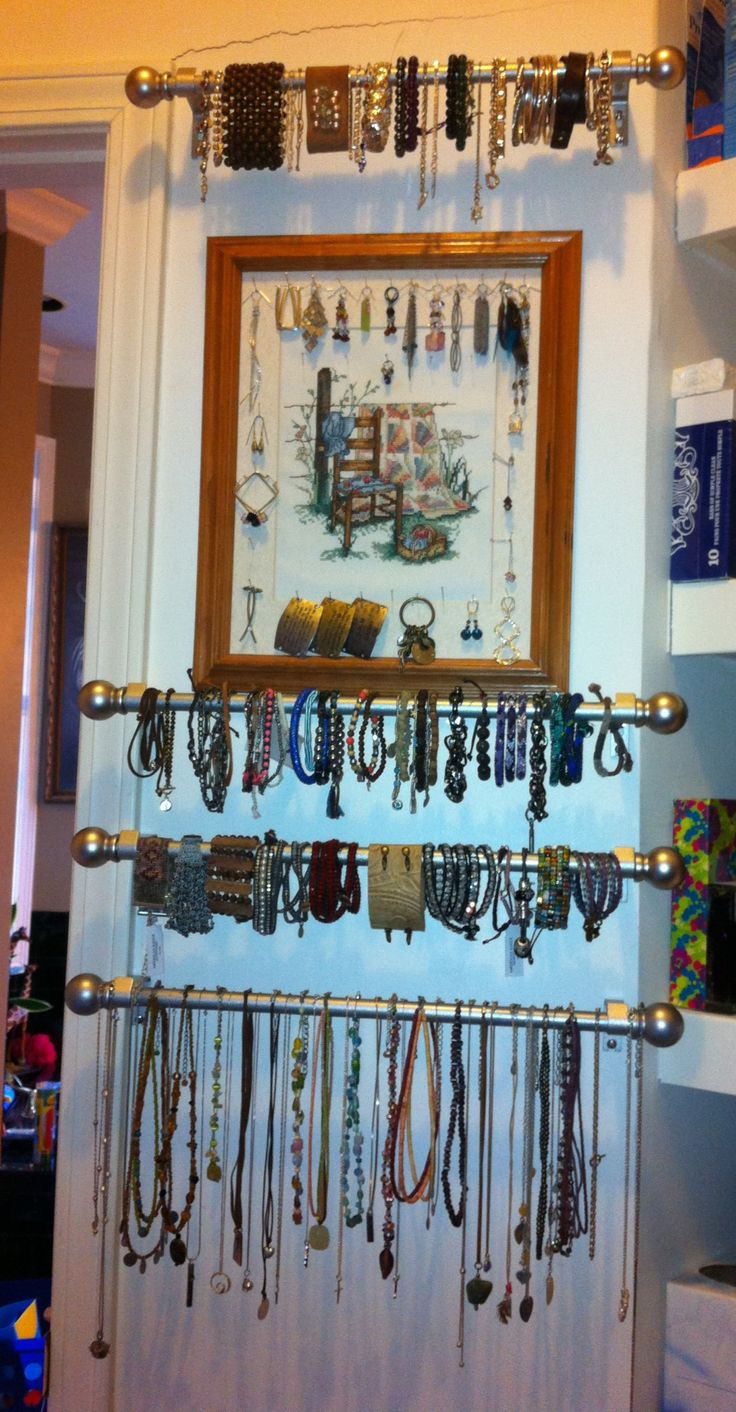 Bracelet Organizer Ideas 632 Best Diy Jewelry Displays Organizer Images On Pinterest
