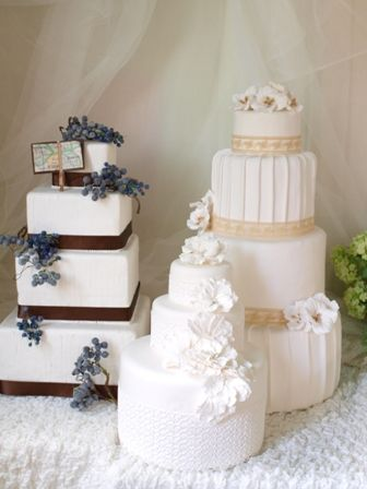 リアルサイズのクレイケーキ http://www.weddingpartyfactory.com/