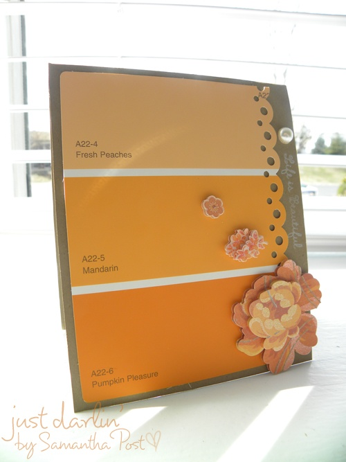 Best  Paint Sample Cards Ideas On   Swatch Gifts