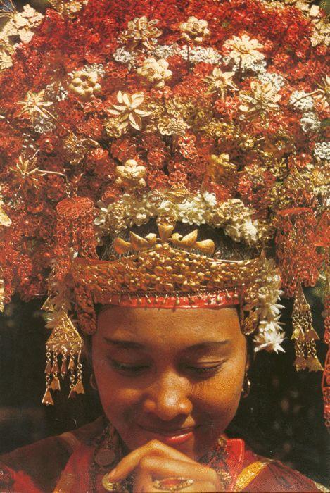 Minangkabau bride
