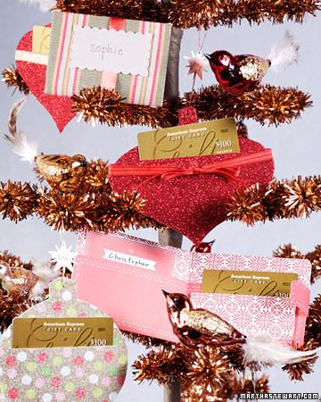 Gift Card Wrapper                    Instead of just putting your gift in a greeting card, add a special personalized touch by making one of these unique gift-card holders yourself