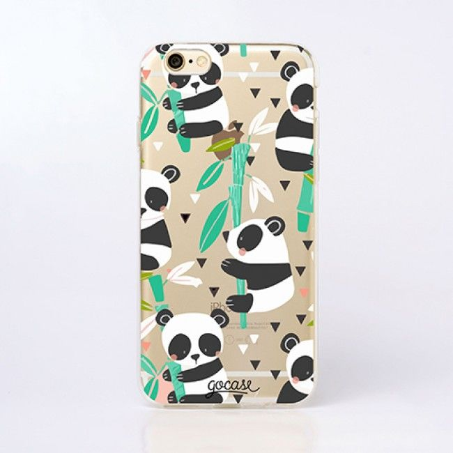 Capinha para celular Panda