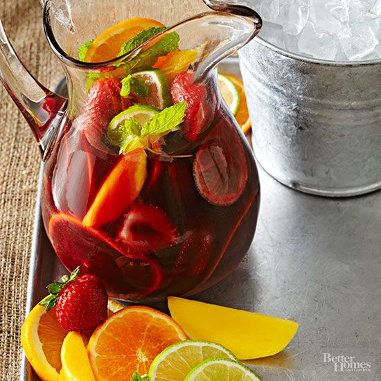 Sangria is an easy summer cocktail to make with either red wine or white wine, but there are so many recipes to pick from. We're sharing our favorite recipes for raspberry, cherry, or strawberry sangria. These are the perfect mixed drinks to serve at a spring or summer party.