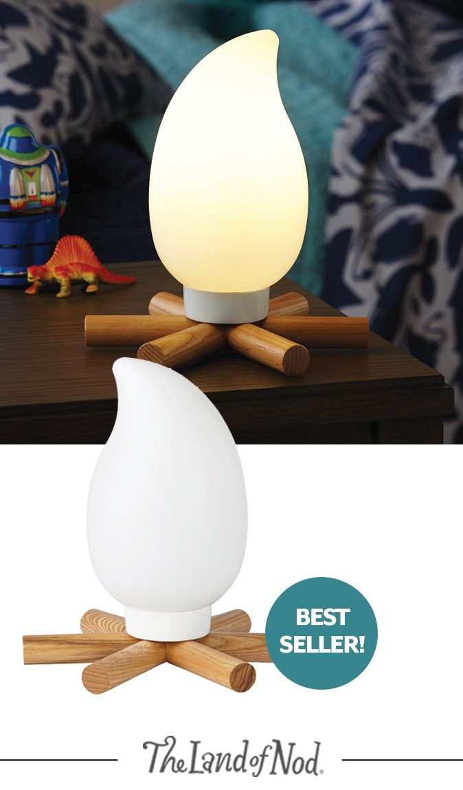 Adorable Camp Fire Light For Kids Room