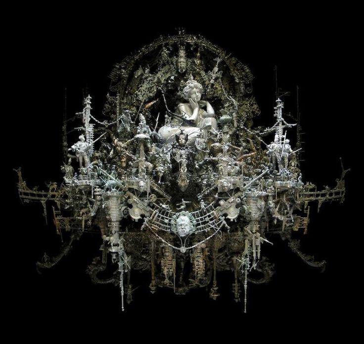 17 best images about kris kuksi on pinterest baroque for Modern baroque art