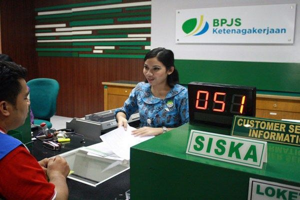 BPJS Ketenagakerjaan Berikan Sosialisasi ke Pedagang di Pasar Induk