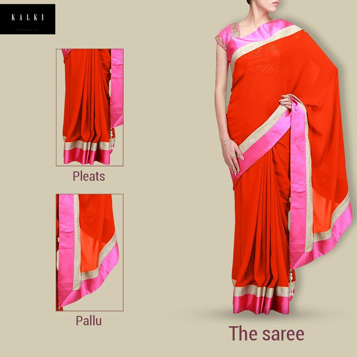 Your favorite #Indian #outfit, now explained. #DecodeTheLook #saree