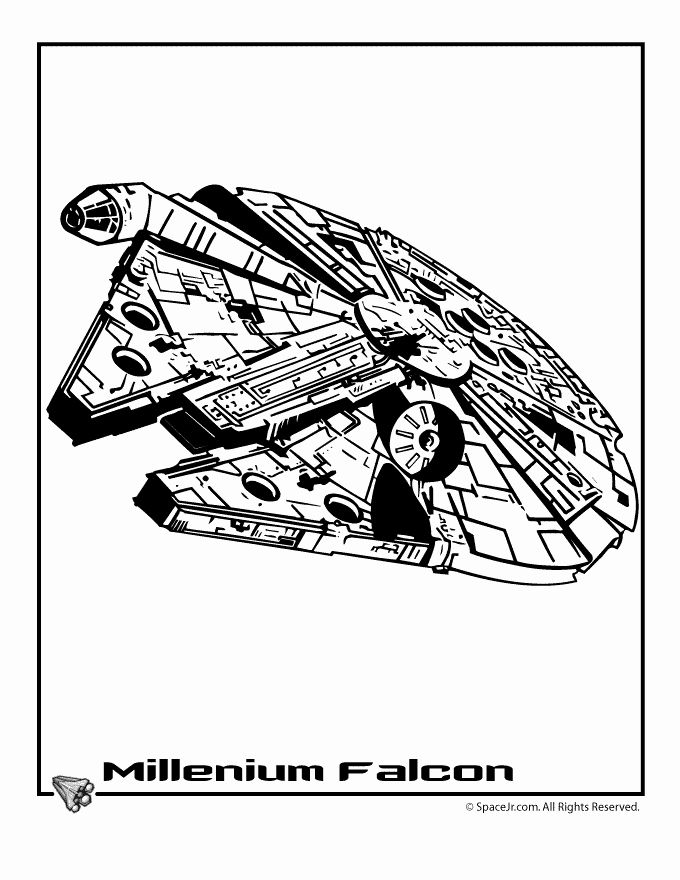 Millennium Falcon Coloring Page Fresh Star Wars Ships Coloring Pages Star Wars Millenium Falcon Star Wars Ships Star Wars Art Star Wars Tattoo