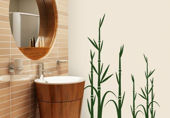 Wandtattoo Bambus 1 - Bild 1