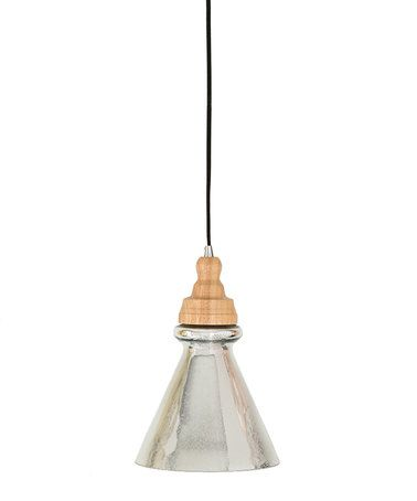 This silver cassandra pendant lamp is perfect zulilyfinds