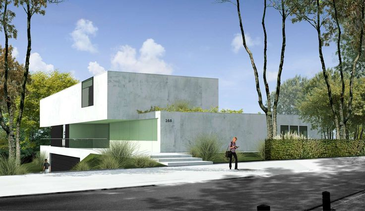 Villa render - designer unknown