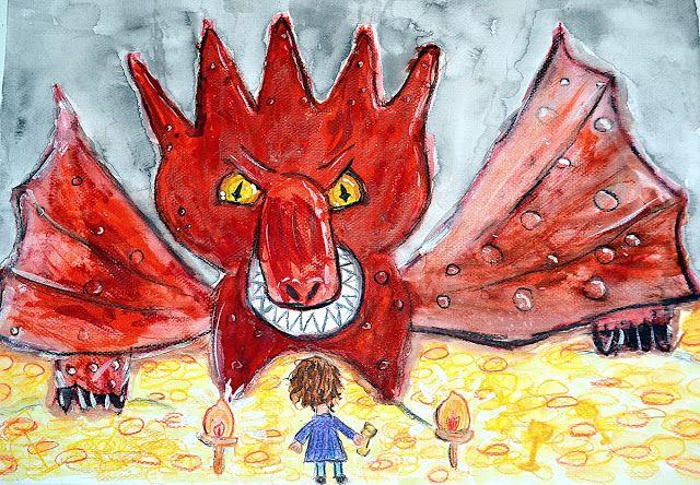 Jul & Joy!: Bilbo Meets Smaug