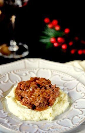 y sigo en la cocina: Meloso de ternera con parmentier de patata a la vainilla