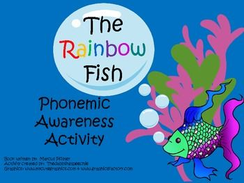 This activity is an activity to use along side The Rainbow Fish.  After reading…