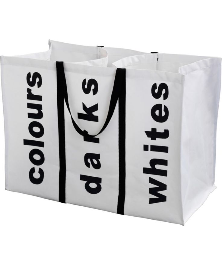 Buy Laundry Bag - White at Argos.co.uk - Your Online Shop for Linen baskets and laundry bins, Linen baskets and laundry bins.