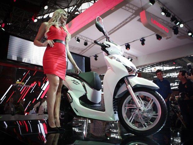 Moto Honda SH 300i 2016