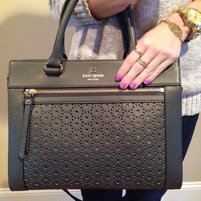 the perfect @Kate Mazur spade new york bag!!