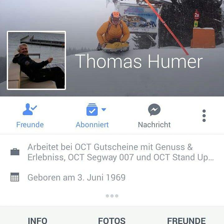 Facebook als freund hinzufügen thomas humer