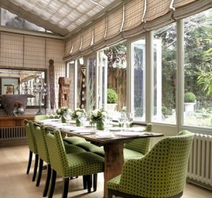 conservatory - kit kemp - firmdale hotels - mylusciouslife.com | Inside the world of Firmdale Hotel group owners, Tim and Kit Kemp