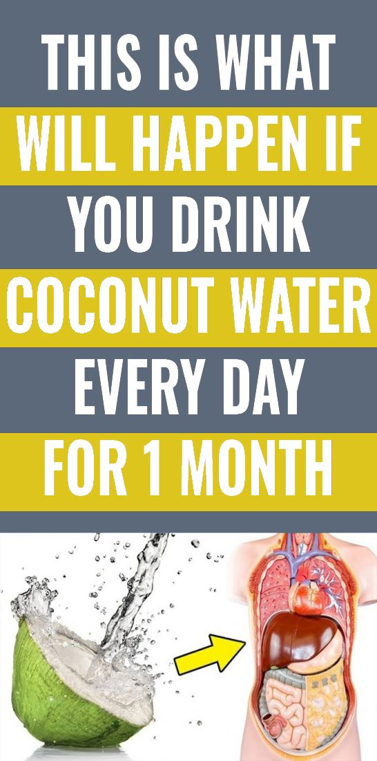 This is What Will Happen If You Drink Coconut Water Every Day For 1 Month – Elain Moske