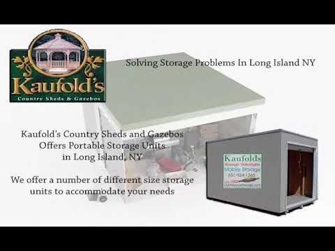 www.Sheds-Gazebos.com Kaufold's Offers Mobile Storage Units Long Island, NY.  Call today for our pricing  (631)924-1265