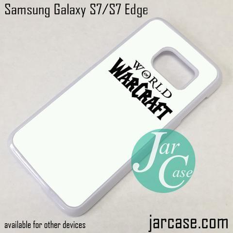 Warcraft Logo (3) Phone Case for Samsung Galaxy S7 & S7 Edge