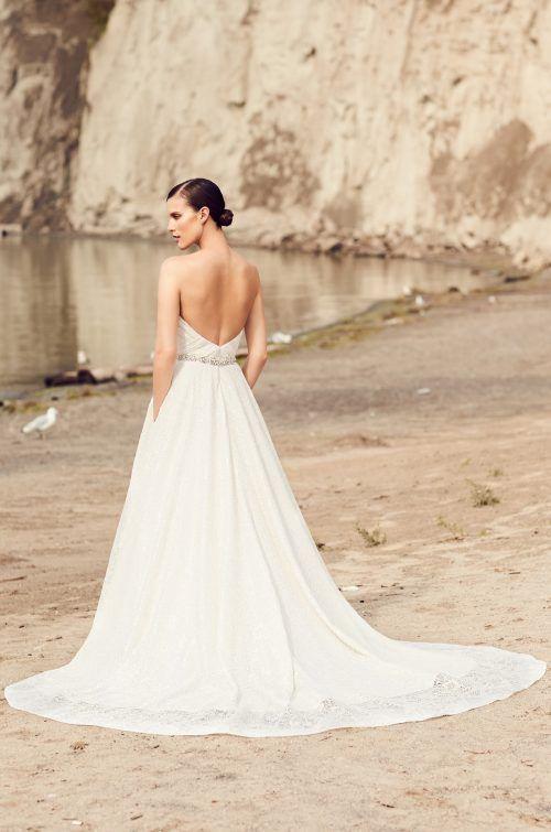 Elegant Full Lace Wedding Dress - Style #2113   Mikaella Bridal