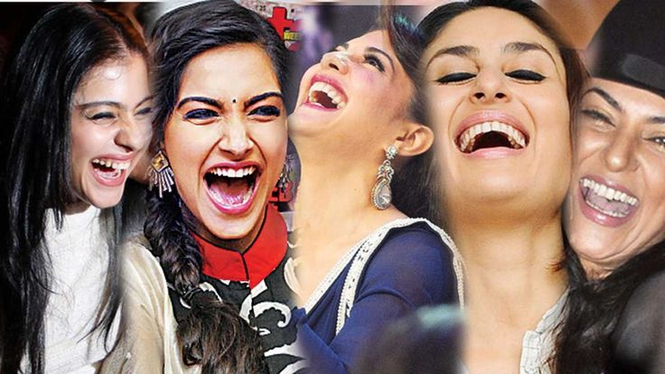 bollywood heroines laughing - Google Search