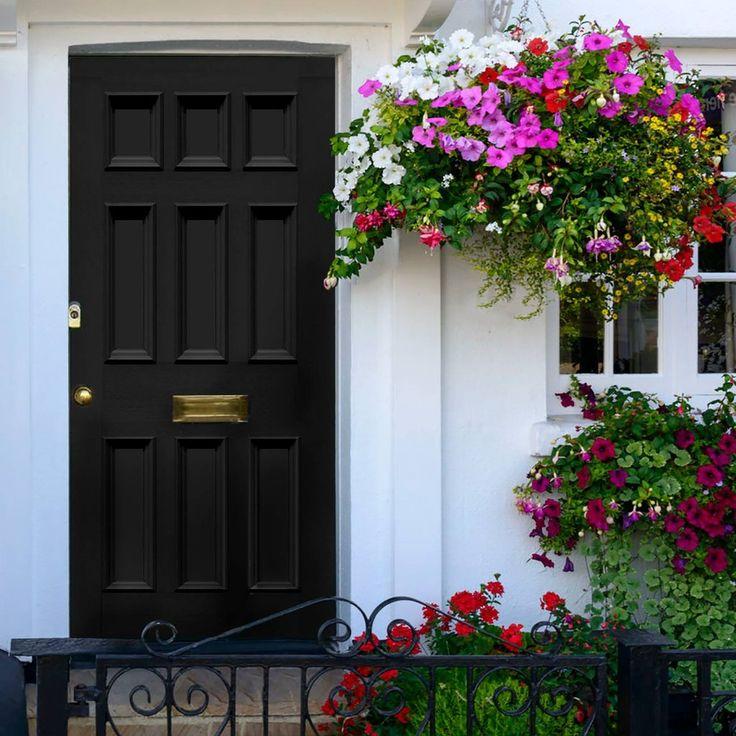Made to order exterior door, Georgian Blackwell door - made to measure to your sizes. #frontdoor #perioddoor #victoriandoor