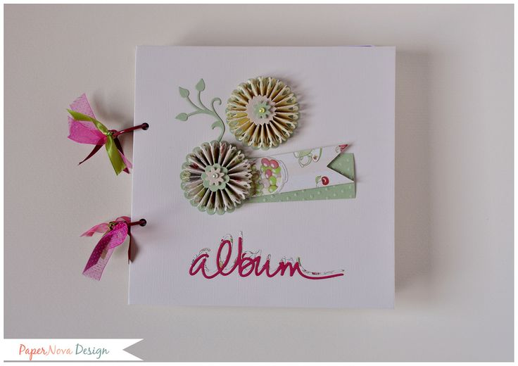 Album Anelli - Medio - PaperNova Design Scrapbooking mini album sweet muffin cake