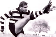Geelong, Polly Farmer. WA footy hero