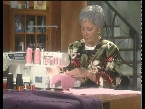 Brother 1034D Serger Techniques:  excellent 7-part series for the new serger user...here is the link to Part 1 where you will easily find the remaining 6 parts