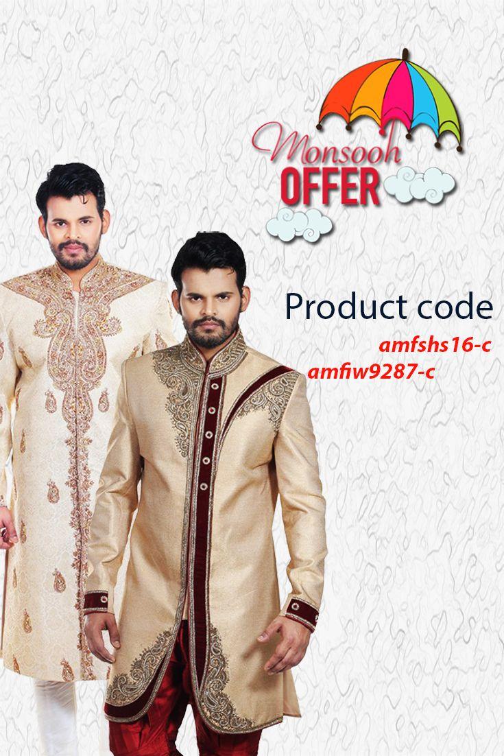 Buy Designer Sherwani for Groom - Mens Sherwani Online