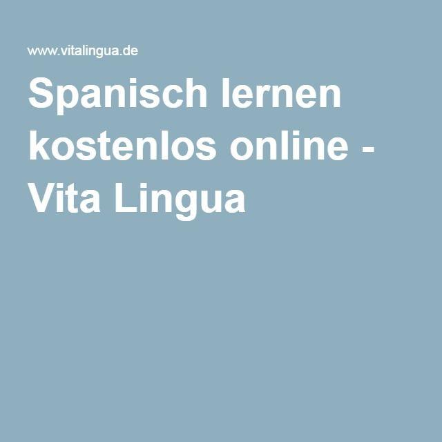 Spanisch lernen kostenlos online - Vita Lingua